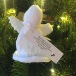 knitted angel photo