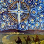 Advent starry night 4 Virginia Wieringa